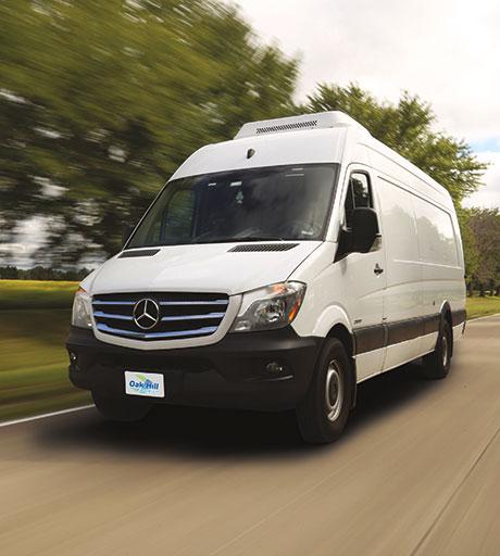 Sprinter Delivery Van Oak Hill Courier